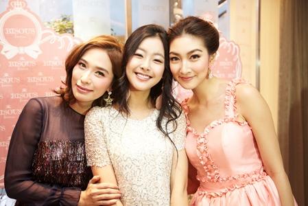 พลอย - เฌอมาลย์ บุญยศักดิ์, คิม วอน ฮี, แพนเค้ก - เขมนิจ จามิกรณ์