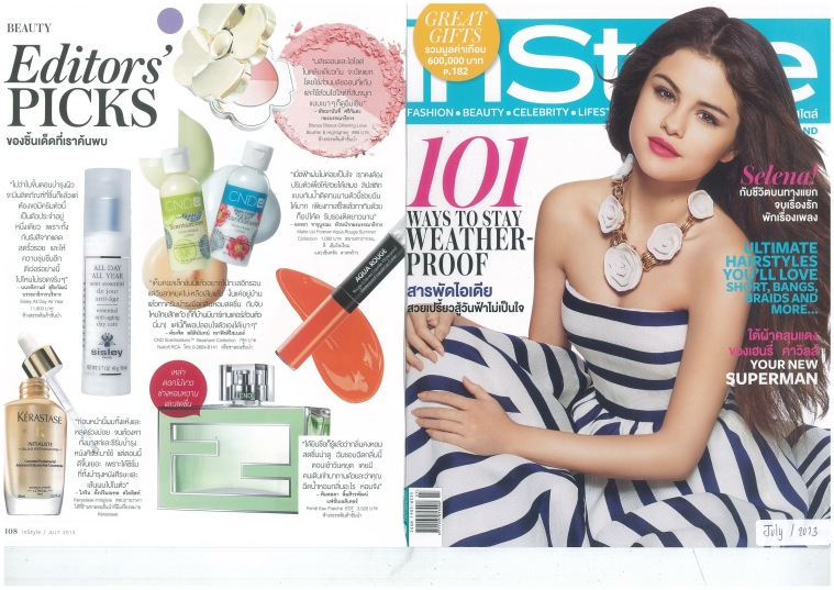 Instyle  July  2013