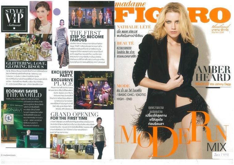madame Figaro June  2013